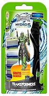 Wilkinson станок Sword Hydro 5 Sensitive Transformers + 4 cменных картриджа