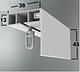 Карниз потолочный одинарный 2,50 метра (ОМ), стоимость карниза за комплект., фото 6