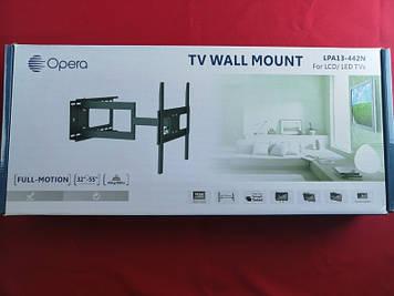 """Похило-поворотне кріплення для телевізора Opera LPA13-442N 32-55"""""""