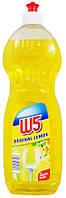 Моющее средство для посуды W5 Lemon 1л
