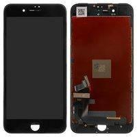 Дисплей для iPhone 7 Plus, черный, с сенсорным экраном, с рамкой, AAA, Tianma
