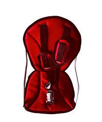 Крісло дитяче на чоловічу раму Червоний