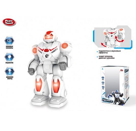 Робот детский на батарейках.Игрушечный робот свет звук.