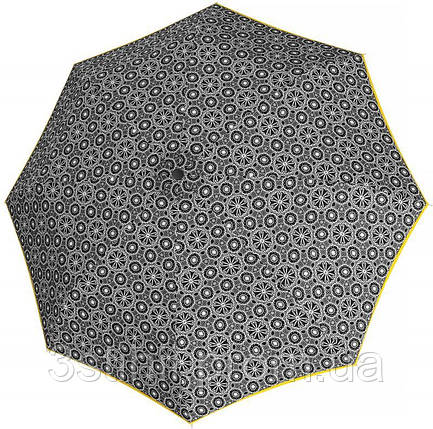 Зонт складной Derby 744165PL-8 полный автомат Желтая полоса, фото 2