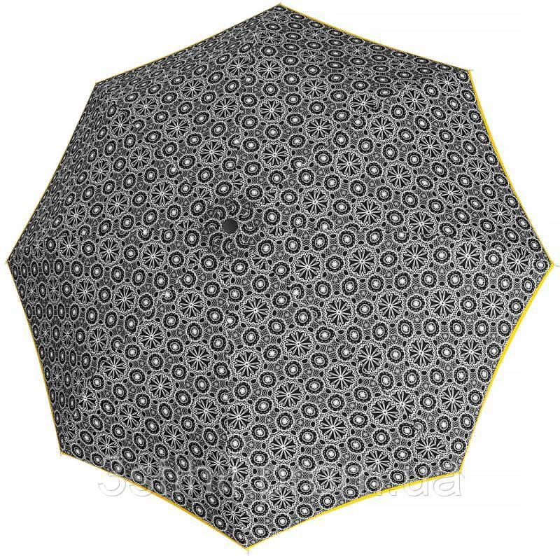 Зонт складной Derby 744165PL-8 полный автомат Желтая полоса
