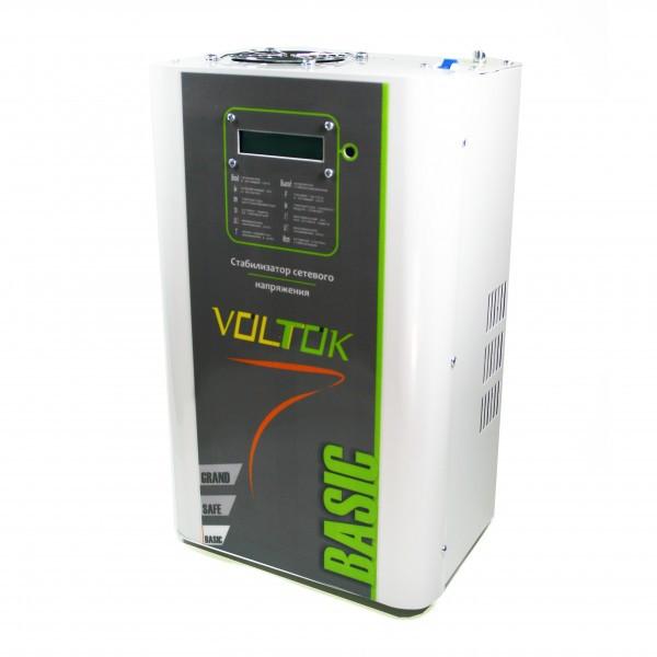 Стабилизатор напряжения Voltok Basiс plus Profi SRKw9-11000 для дома, дачи, квартиры, промышленности