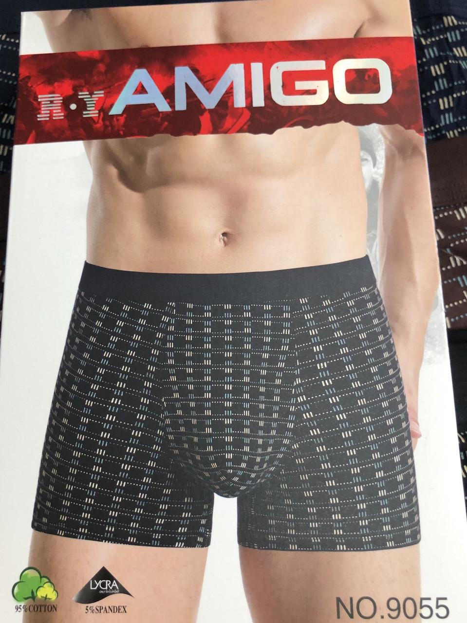 """Чоловічі Боксери Стрейчеві Марка """"R. Y AMIGO"""" Арт 9055"""