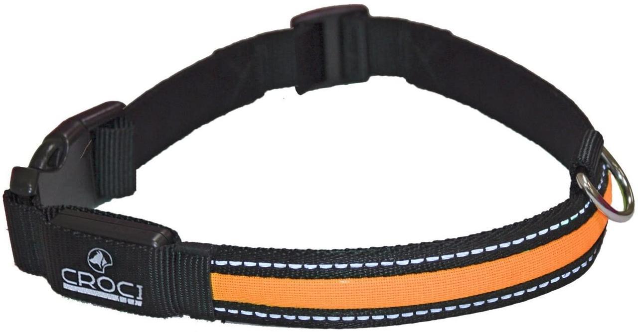 Светящийся ошейник Croci Led USB 36-51 см для собак