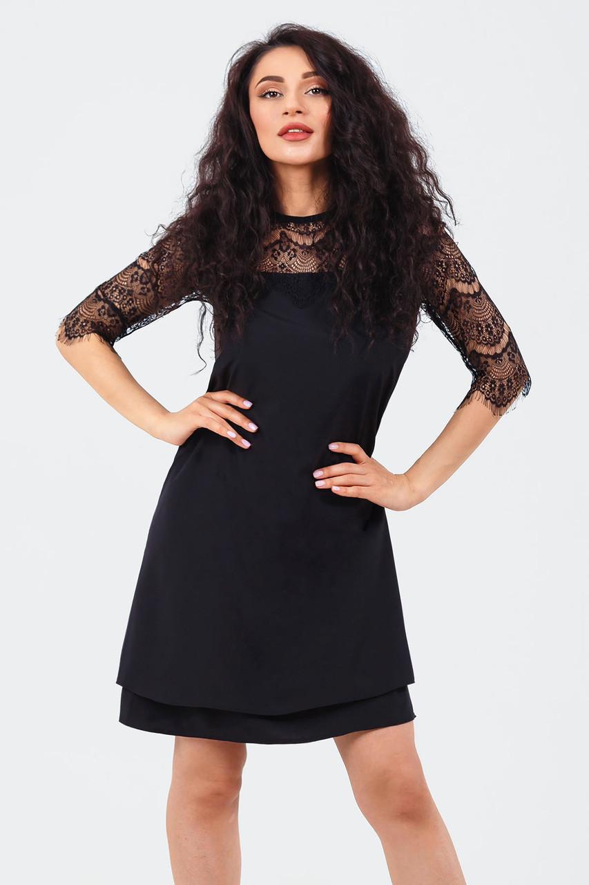 Романтическое платье Valery, черный
