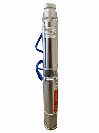 Насос свердловинний з підвищеною вуст-ма до піску Optima PM 4QJm4/11 0,75 кВт 81м + 15 м кабель, фото 2