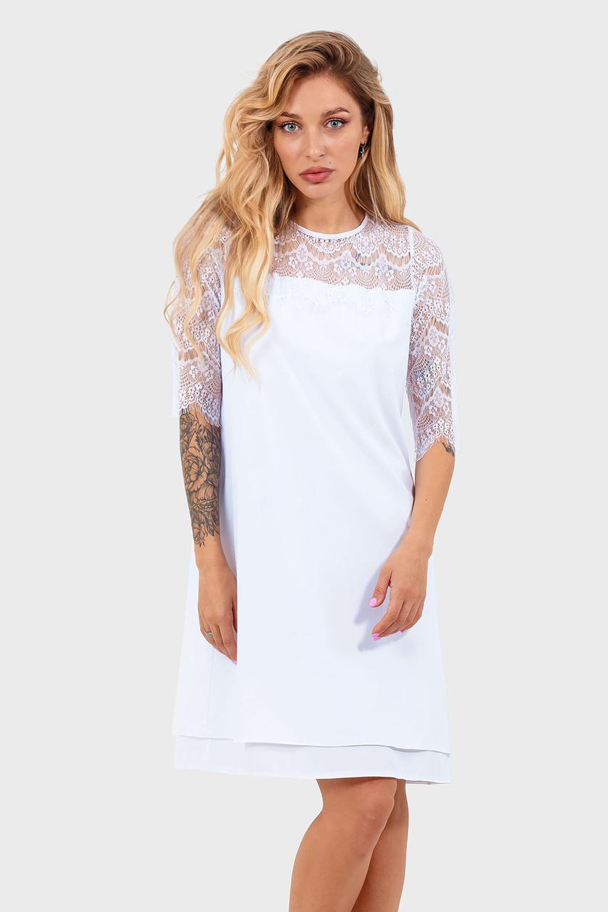 Романтическое платье Valery, белый