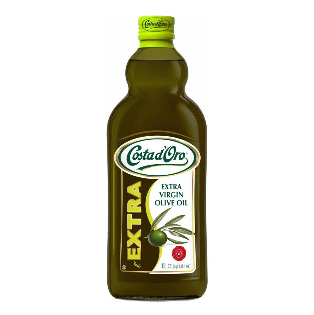 Олія оливкова Costa d'Oro Extravergine 1л, 8шт/ящ 10155