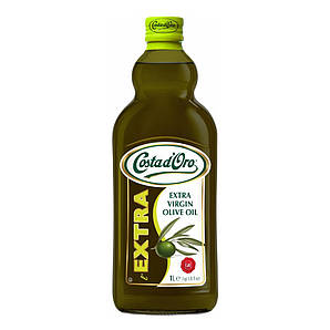 Олія оливкова Costa D'oro 1л Extravergine, 8шт/ящ 10155