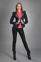 Пиджак женский модель №514,т.синий размеры 44,46,48( только опт), фото 1