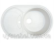 Мийка Gazzo7750 граніт білосніжна (Platinum)