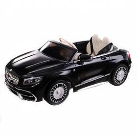 Mercedes-Maybach S650 Cabriolet ZB188 - детский электромобиль, черный глянец