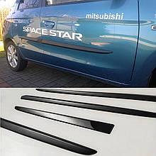 Молдинги на двері для Mitsubishi Space Star II 2012-present