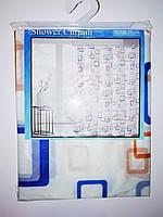Штора для ванной PVC-3 180*180 см