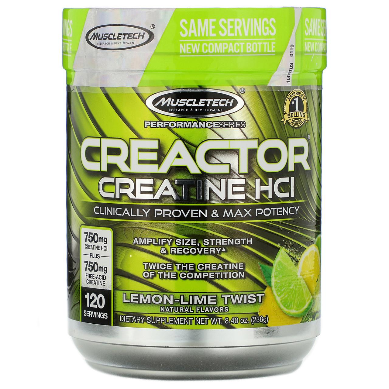 Muscletech Creactor 120serv