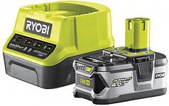 Аккумулятор и зарядное устройство RYOBI ONE+ RC18120-140