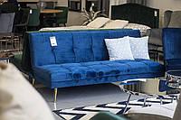 Прямой диван Signal Moritz VeLvet 181х80 см Синий (MORITZVGRZL)