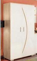 Шкаф 900 Ольвия-нова (белый)