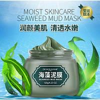 Маска для лица грязевая с морскими водорослями BIOAQUA Seaweed Mud Mask (120г), фото 1