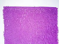 """Коврик для ванной """"Лапша"""" 80*115 см Фиолетовый"""