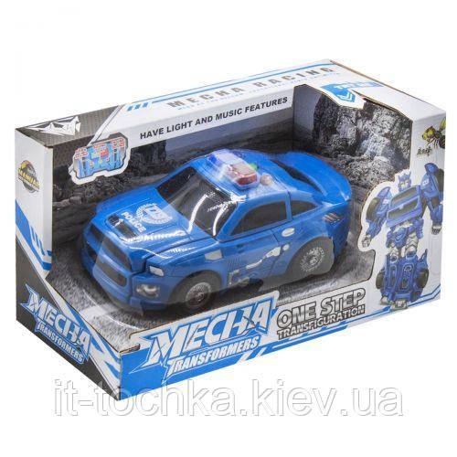 Трансформер mecha: Машина синий