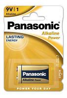 Щелочные батарейки Panasonic Alkaline Power 6LF22APB/1BP, Крона, блистер 1 шт