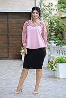 Костюм женский нарядный с юбкой  в расцветках 80149, фото 1