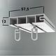 Карниз потолочный тройной 2,50 метра (ОМ), стоимость карниза за комплект., фото 9