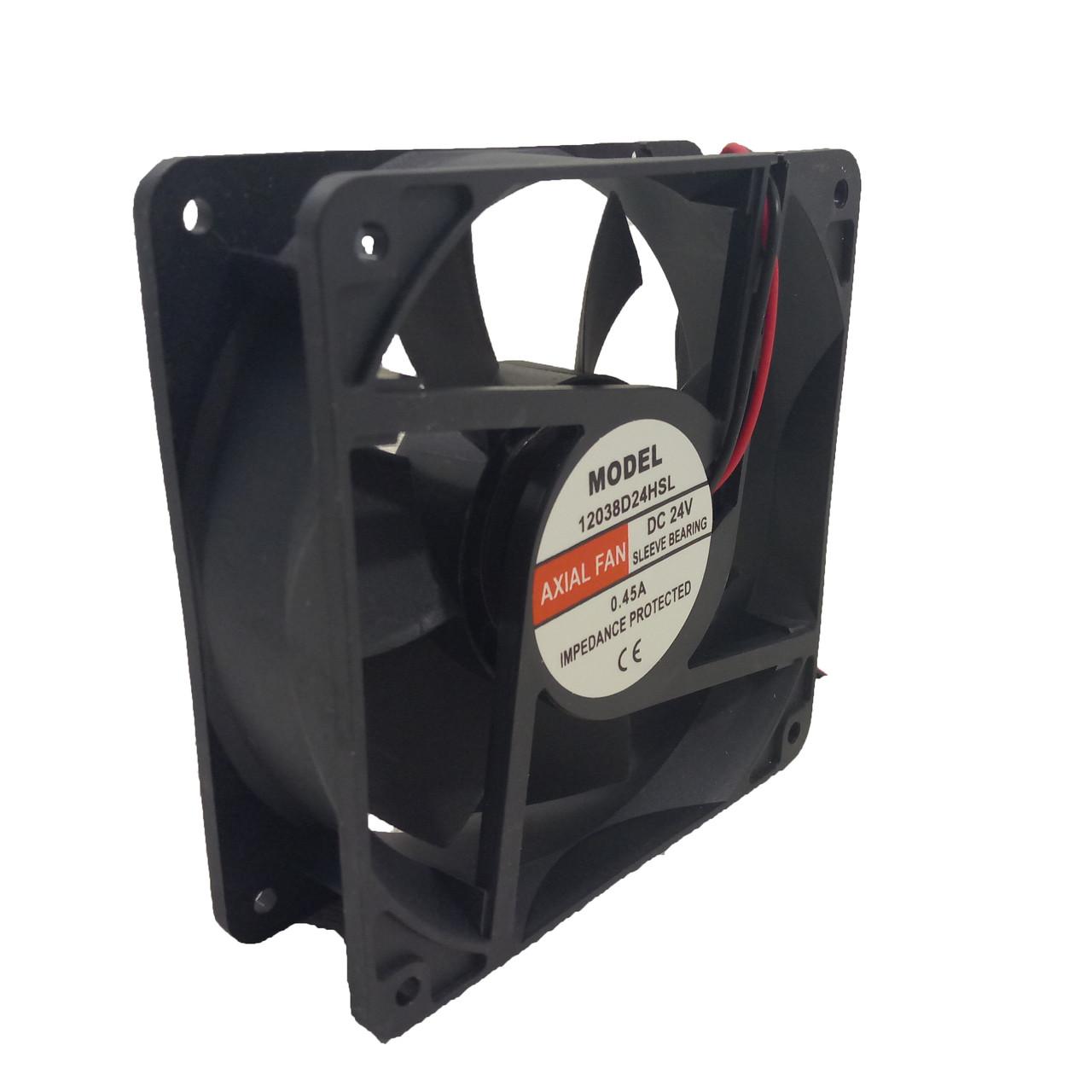 Универсальный осевой вентилятор Sunflow 120×120×38мм, 24В, 0,2А (квадратный)