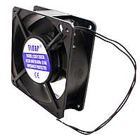 Бытовой осевой вентилятор Tidar 5-ти лопастной 120×120×38, 220В, 23Вт (квадратный)