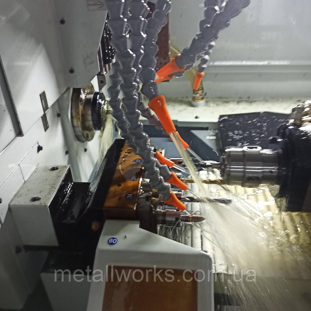 Изготовление деталей на токарном автомате продольного точения
