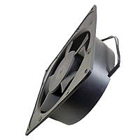 Бытовой вытяжной осевой вентилятор Tidar 5-ти лопастной 172×150×50мм, 220В, 33Вт (круг-квадрат)
