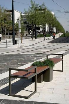 Лавка SDI парково-садовая Long