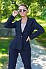 Женский деловой костюм с пиджаком и узкими брюками (Наоми jd), фото 2