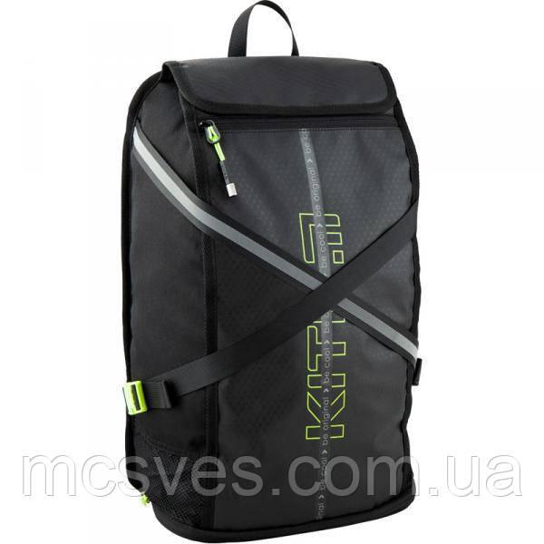 Рюкзак K20-917L-2, анатомічна ущільнена спинка, ручка-петля, 1 відділення, 1 передня кишеня, кишеня для взуття