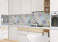 Виниловая наклейка кухонный фартук-скинали, самоклейка для кухни IdeaX Орнамент 03 60х250 см