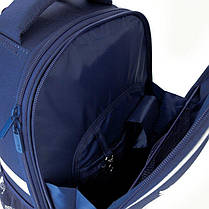 Рюкзак 531 набор школьный каркасный Kite Education Hot Wheels HW20-531M пенал сумка, фото 3