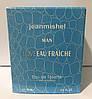 Тестер в подарочной упаковке jeanmishel Man loveEau Fraiche 60 мл