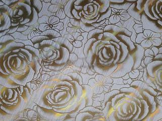 Золотистые розы
