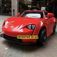Детский электромобиль Porsche на пульте FL1718 красный. Машина на пульте Порше