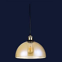 Підвісний скляний світильник колір золото Levistella&TEA 7528975-1