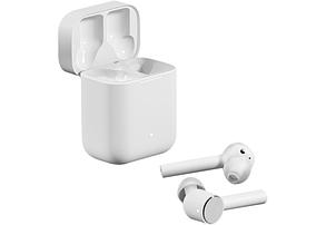 Беспроводные наушники Xiaomi Mi True Wireless Earphones Lite (BHR4090GL) White Оригинал, фото 2