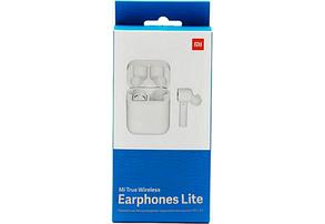 Беспроводные наушники Xiaomi Mi True Wireless Earphones Lite (BHR4090GL) White Оригинал, фото 3