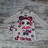 Оптом Дитяче Плаття з Маскою на Обличчя Тік Ток 2-5 років Туреччина, фото 3