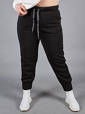 Спортивный костюм женский для полных черный, фото 3