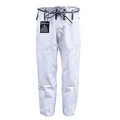 Штани для кімоно FIREPOWER New 3.0 Rip-Stop Білі з сірим